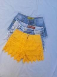Kit 3 short feminino - Tam 38