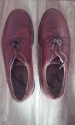 Sapato Masculino Social Sergios Em Couro