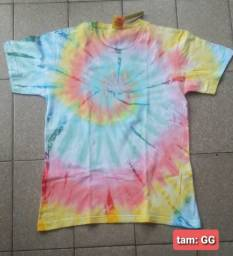 Título do anúncio: Camisas Tie Dye na compra de duas fica por $60 avista leia a publicação