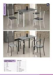 Título do anúncio: Mesa 4 cadeiras na promoção