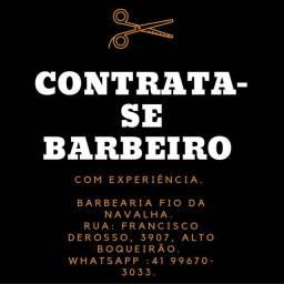 Título do anúncio: Contrata-se barbeiro com experiência.