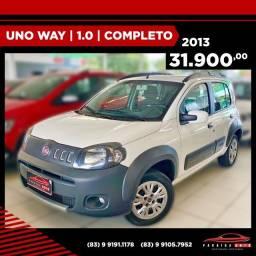 Uno Way 1.0 - 2013 Completo - ( Paraíba Auto )