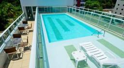 Título do anúncio: Flat com 1 dormitório à venda, 16 m² por R$ 175.000,00 - Cabo Branco - João Pessoa/PB