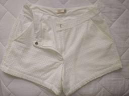 Short off white