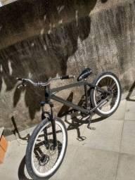 Bicicleta aro 26 com amortecedor de 29 top s