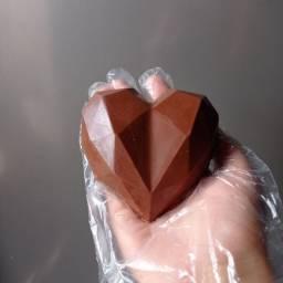 Trufa em formato de coração
