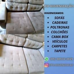 Título do anúncio: sofá novo de novo
