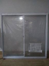 Título do anúncio: Janela alumínio nova 3x cartão
