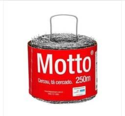 Título do anúncio: Arame Farpado Motto Belgo 250metros