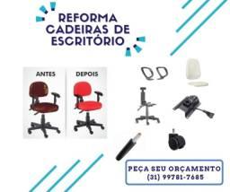Título do anúncio: Reforma de Cadeiras de Escritório