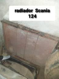 Radiador scania 124