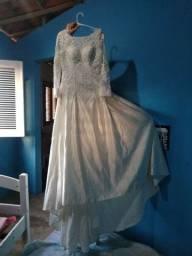 Vestido de Noiva Importado Cor Champanhe
