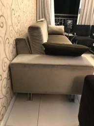 Sofá de luxo 4 a 5 lugares (muito novo)