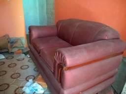 Conj. Sofá bem conservado