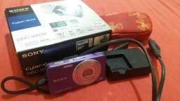 Câmera nova, Sony, 16.1 mega pixels