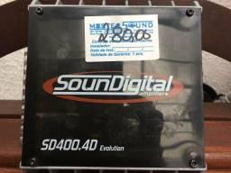 Modulo digital seminovo 4 canais mono stereo garantia e grátis a instalação