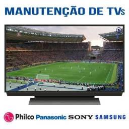 Manutenção de Televisão, TVs de Led, TVs Lcd