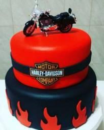 Bolo Fake Harley Davidson