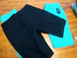 Bermudas Jeans sarja masculina