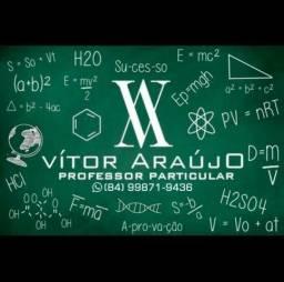 Professor particular (Reforço escolar para ensino Fundamental e Médio)