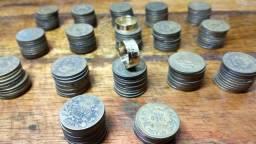 Moedas antigas de mil reis para confecção de alianças 200 unidades R$190,00 Reais
