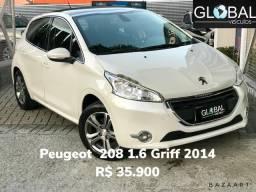 Peugeot 208 1.6 Griff 2014 - 2014