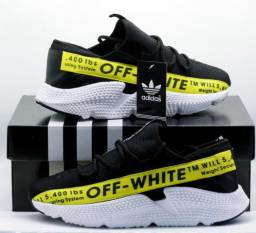 Adidas off whith top