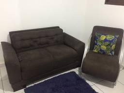 Poltronas e sofá