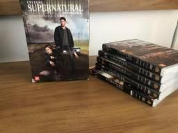 Coleção box supernatural Dvd