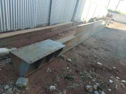 Estrutura para pórtico rolante 5 10 Ton