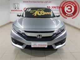 Honda Civic 1.5 16v turbo gasolina touring 4p cvt - 2018