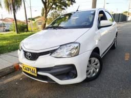 Toyota etios hatch 2018 1.3 x 16v flex 4p manual - 2018