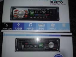 Promoção Modelo novo Valor instalado radio USB, Bluetooth cartão de memoria sd controle