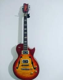 Guitarra Golden semi acústica