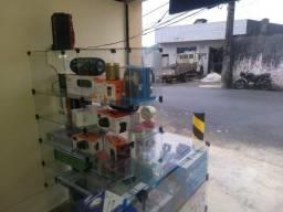 Lote de Eletrônicos, Acessórios para celular e Informática (Loja Fechando)