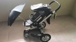 Carrinho infantil Quinny Buzz + bebê conforto Maxi Cosi para o carro