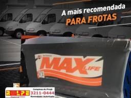 Bateria_ Caixa Baixa 12 v 95 ah da Marca MAX-Promoção Rolpe Baterias
