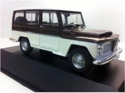 Miniatura Rural 1968 / Coleção Carros Nacionais escala 1/43