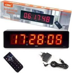 Relógio e Cronômetro Digital Led LE-2113 Controle Remoto - Imperium Informatica