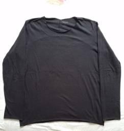 Blusa de frio em algodão Osklen Original Nova - Preta Top!