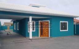 Casa de 3 qtos (1 suite), porcelanato, sala ampla, piscina, área gourmet