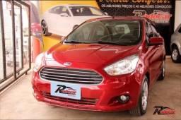 Ford Ka   Sedan SE 1.0 Vermelho