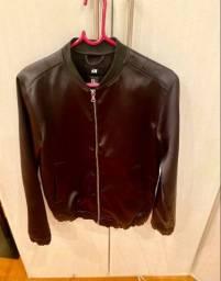 Jaqueta em cetim masculina H&M