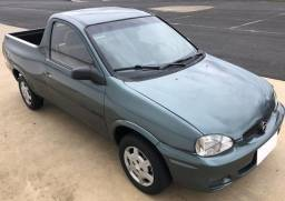 Chevrolet Pick up Corsa 1.6 cinza 2020 pago - 1999