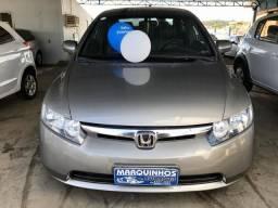 Honda Civic 2008 LXS 1.8 Segundo Dono Completo + Couro 100 mil km - 2008