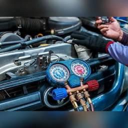 Manutenção ar condicionado automotivo