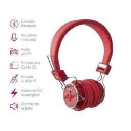 Fone de Ouvido Headset com Bluetooth Sd Fm B05