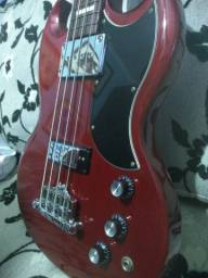 Baixo Gibson SG original impecavel com nota fiscal