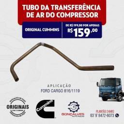 TUBO DA TRANSFERÊNCIA DE AR DO COMPRESSOR ORIGINAL CUMMINS