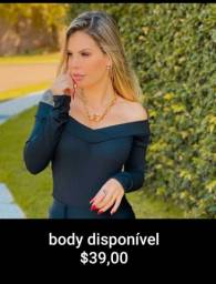 Bodys femininos disponiveis